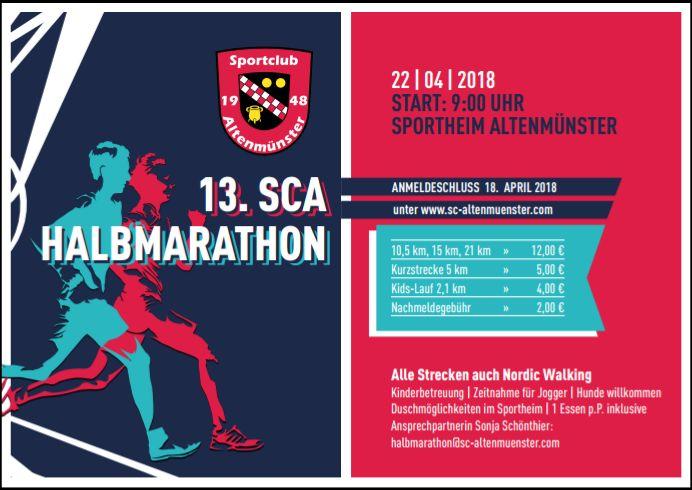 SCA Halbmarathon 2018