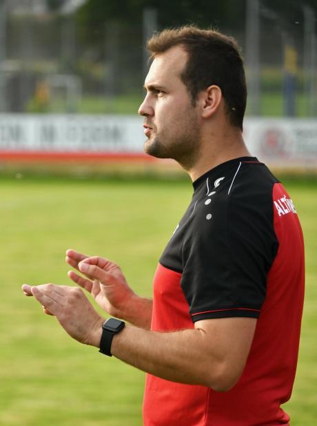 Peter Ferme - Trainer des SC Altenmünster